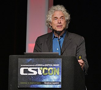 Steven Pinker - Pinker discussing his book Enlightenment Now at CSICon.
