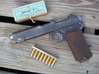 Steyr M1912 semi-automatic pistol