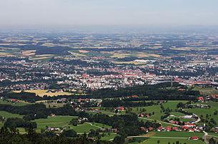 Blick von der Dambergwarte in Sankt Ulrich