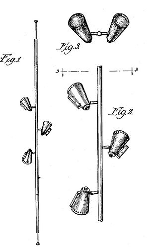 "Sears, Roebuck & Co. v. Stiffel Co. - The Stiffel ""pole lamp"" – U.S. Design Pat. No. 180,251"
