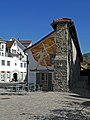 Stiftsmauer (Schiedmauer), Stiftsbezirk St. Gallen, Zeughausstraße (02).jpg