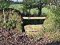 Stile at the end of the Footpath - geograph.org.uk - 506341.jpg