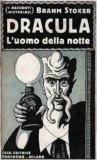 Stoker - Dracula, Sonzogno, Milano, 1922 (page 1 crop)