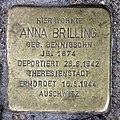 Stolperstein Brandenburgische Str 24 (Wilmd) Anna Brilling.jpg