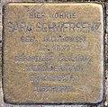 Stolperstein Duisburger Str 1 (Wilmd) Sara Schwersenz.jpg