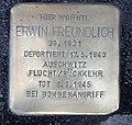 Stolperstein Emser Str 90 (Neukö) Erwin Freundlich.jpg