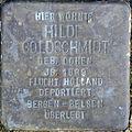 Stolperstein Köln, Hilde Goldschmidt (Ahrweilerstraße 8).jpg