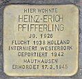 Stolperstein Löberstraße 2-Heinz-Erich Pfifferling-CTH.JPG