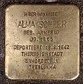 Stolperstein Martin-Luther-Str 84 (Schön) Alma Scheer.jpg