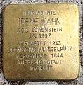 Stolperstein Wesseling Nordstraße 20 Irene Cahn.jpg