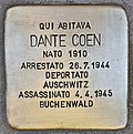 Stolperstein für Dante Coen (Ancona).jpg