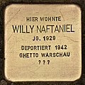 Stolperstein für Willy Naftaniel (Cottbus).jpg