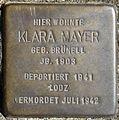 Stolpersteine Köln, Klara Mayer (Am Markt 6).jpg