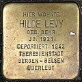 Stolpersteine Krefeld, Hilde Levy (Neusser Straße 38).jpg