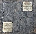Stolpersteine für Adele Prager und Günter Neubauer, Flemmingstraße 8, Chemnitz (1).JPG