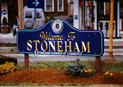 Welcome to Stoneham, Massachusetts