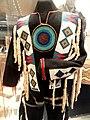 Stoney Nakoda man's dance outfit, Morley Reserve, Alberta, c. 1905 - Royal Ontario Museum - DSC00319.JPG