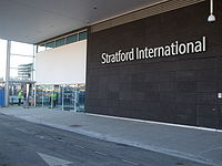 Stratford International stn entrance.JPG