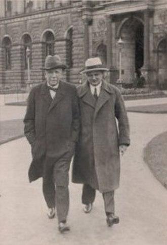 Die ägyptische Helena - Strauss and Busch in Dresden, 1928