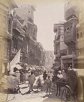 Street scene of Lahore.