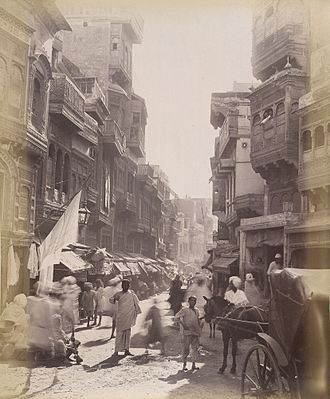Punjabi clothing - Punjabi clothing of Lahore, 1890s