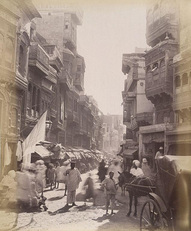 File:Street scene of Lahore, 1890s 2.jpg - Wikimedia Commons