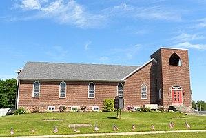 Conewago Township, York County, Pennsylvania - United Brethren Church near Strinestown