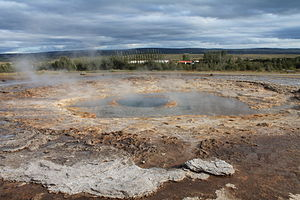 Strokkur - Strokkur at rest