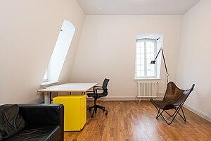 Akademie Schloss Solitude - Interior of a studio.