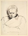 Study of a Man Gazing Down MET DP829456.jpg