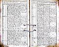 Subačiaus RKB 1832-1838 krikšto metrikų knyga 146.jpg