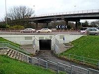 Subway under Gabalfa Interchange, Cardiff.jpg