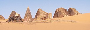 Giuseppe Ferlini - Ferlini raided the Meroe pyramids in 1834.