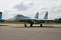 Sukhoi Su-27SM-3 Flanker 59 red (8508520566).jpg
