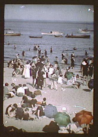 Rye, New York - Rye Beach, early 20th century