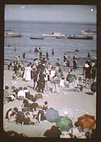 Rye, New York - Rye Beach, early 20th century