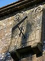 Sundial, All Saints Church, Hilton - geograph.org.uk - 985915.jpg