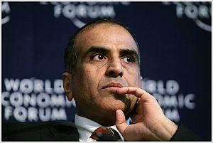 Sunil Bharti Mittal DAVOS/SWITZERLAND, 25JAN08...
