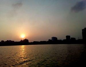 Hatirjheel - Sunset at Hatirjheel