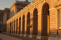 Sunset at the Palace (36384476111).png