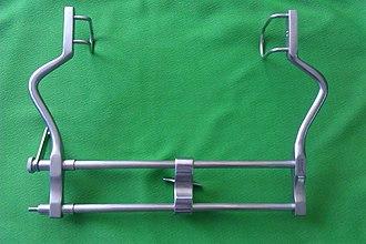 Retractor (medical) - Image: Surgical retractor