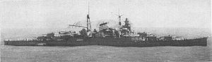 Japanese cruiser Suzuya (1934) - Image: Suzuya 1