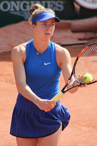 Elina Svitolina - Svitolina at the 2016 French Open