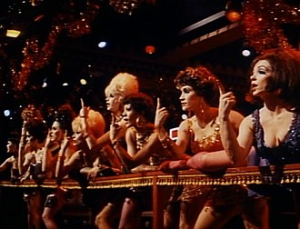 Chita Rivera - Paula Kelly (third from right) and Chita Rivera (second from right) in Sweet Charity (1969).