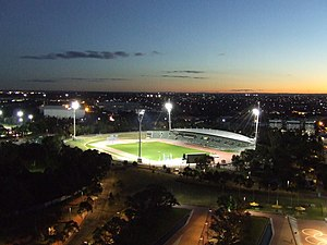 1996 World Junior Championships in Athletics - The host stadium in Sydney.