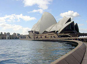 The Sydney Opera House is one of the world's most recognizable opera houses and landmarks.
