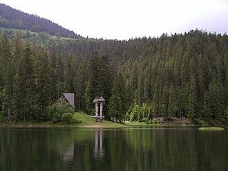 National Nature Park Synevir - Synevyr lake