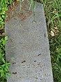 Třebotovský židovský hřbitov, náhrobní stéla Joachima Federera.jpg