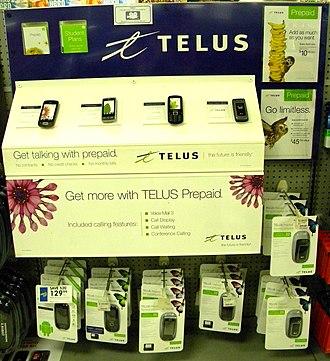 Telus Mobility - Prepaid TELUS phones
