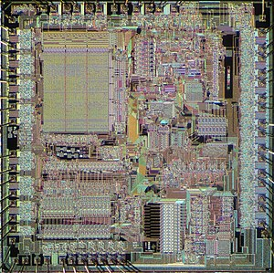 Texas Instruments TMS9900 - Image: TI TMS9900 die